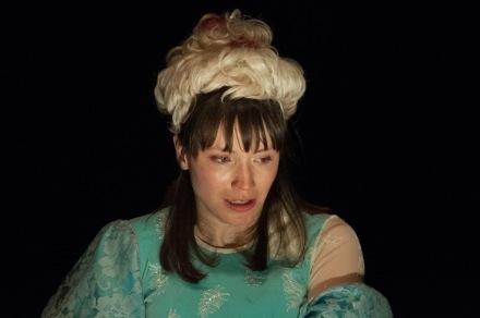 """Emily Marro in """"Il Regno Malati at Dinner"""" photo by Bailey Carr"""